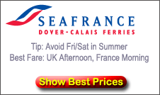 SeaFrance Ferries from Dover to Calais