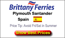 Ferries From UK To Spain